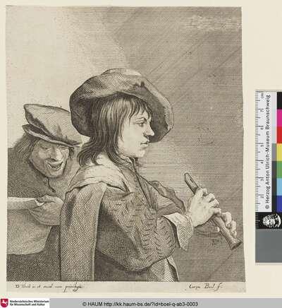 [Der Flötenspieler; The fluteplayer; Le Joueur de flûte]