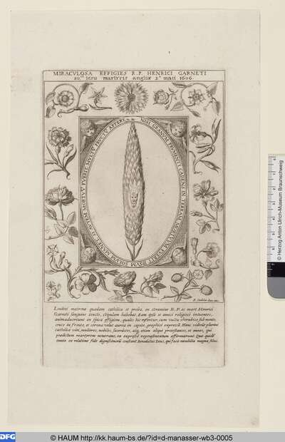 Traumbild des Heinrich Garnetus