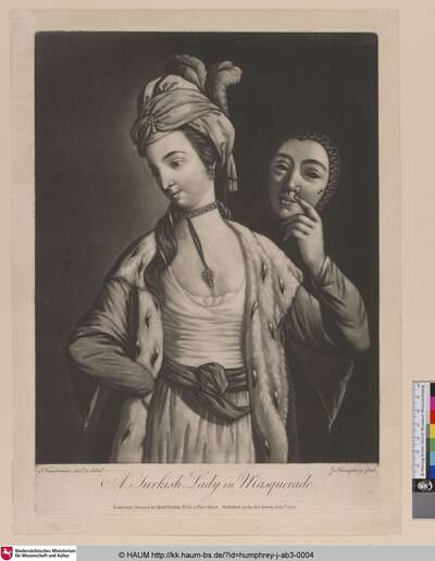 A Turkish Lady in Masquerade