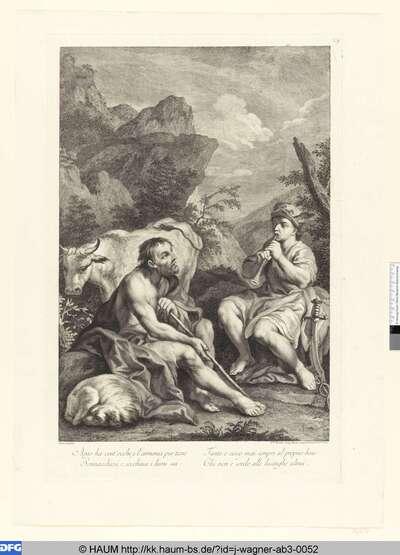Merkur und Argos