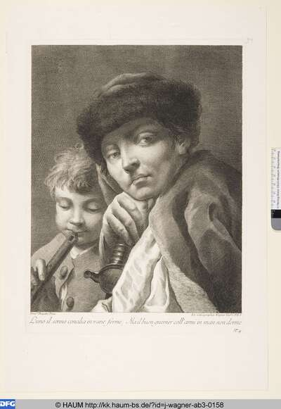 Der Flötenspieler und der Soldat