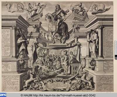 Thesenblatt für Carl Friedrich Graf von Hohenems
