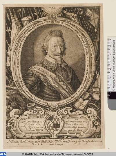 Godfrid-Henric [...] in Bapenheim und Treichling