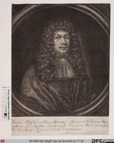 Bildnis Samuel Rachel(ius)