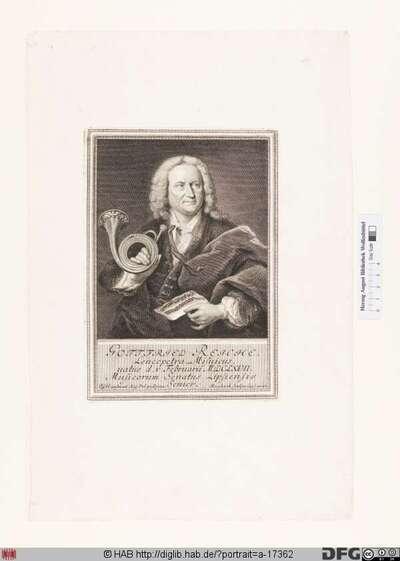 Bildnis Gottfried Reiche