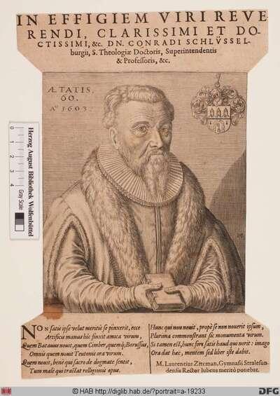 Bildnis Conrad Schlüsselburg