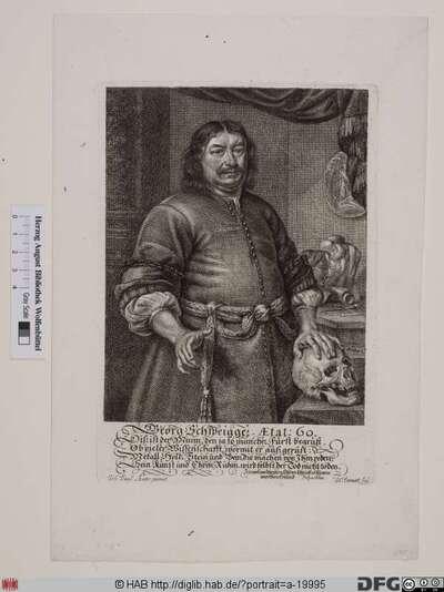 Bildnis Georg Schweigger