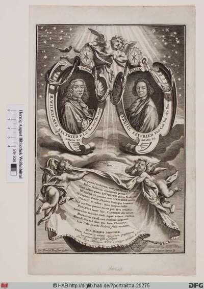 Bildnis Wilhelm u. Gabriel Seyfried