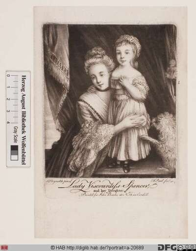 Bildnis Countess Margaret Georgiana Spencer, geb. Poyntz