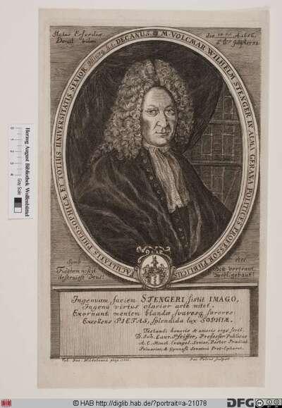 Bildnis Volkmar Wilhelm Stenger