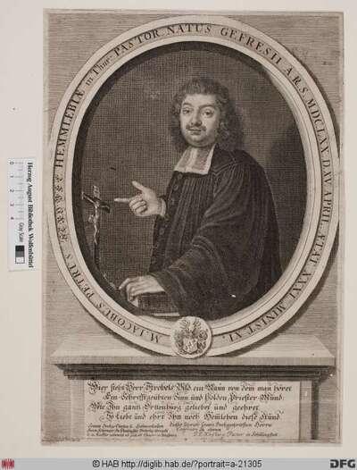 Bildnis Jacob Peter Strobel