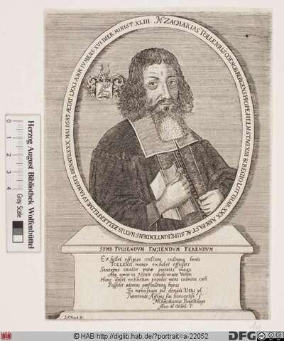 Bildnis Zacharias Tollenius