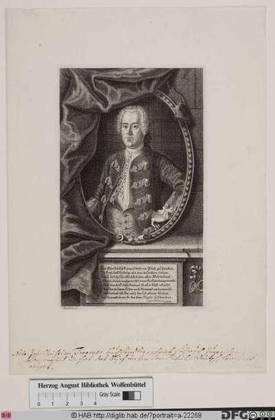 Bildnis Johann Christian Troemer