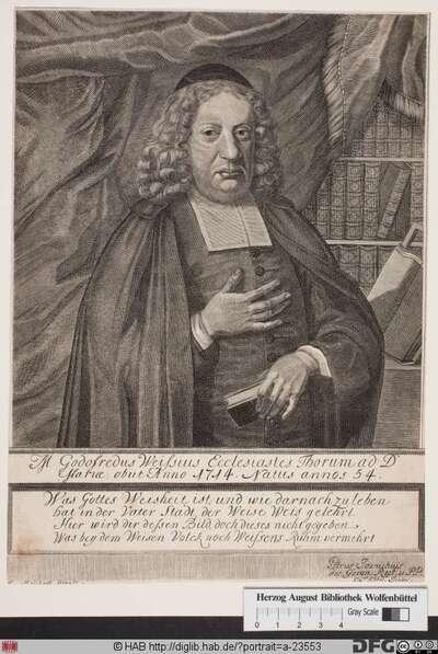 Bildnis Gottfried Weiß