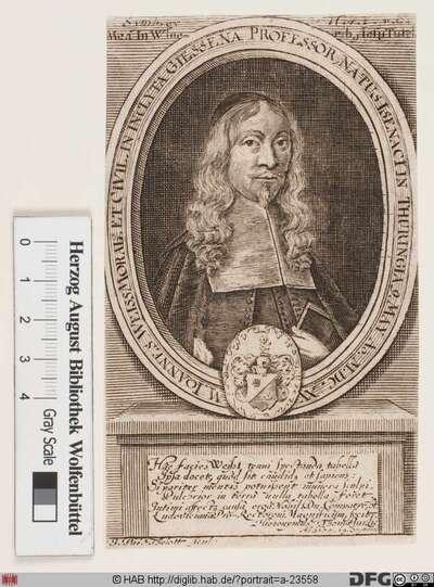 Bildnis Johann Weiß (Weise)