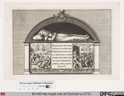 Bildnis Philippine Welser (1567 Freiin von Zinnenburg)