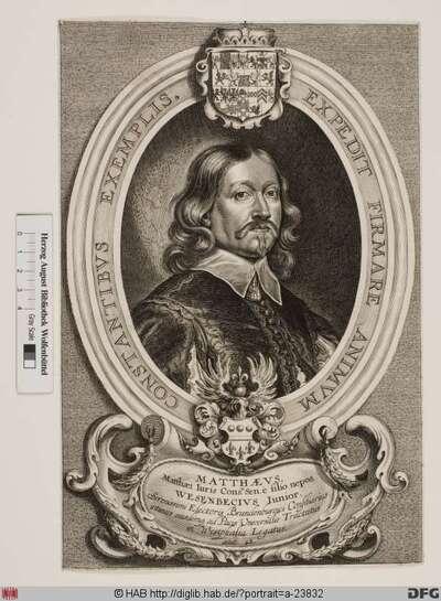 Bildnis Matthäus Wesenbeck d. J. (1650 von)