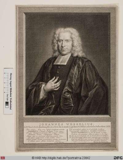 Bildnis Johannes Wesselius d. J.
