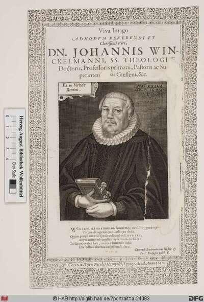 Bildnis Johann Winckelmann