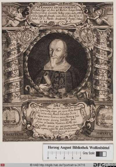 Bildnis Johannes Zechendorff