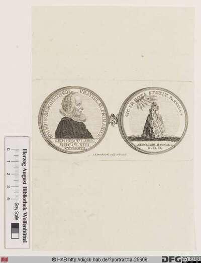Bildnis Johann Friedrich Burg