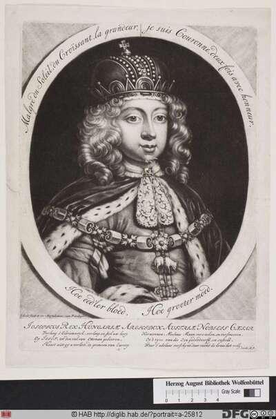 Bildnis Joseph I., römisch-deutscher Kaiser (reg. 1705-11)
