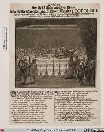 Bildnis Leopold I., römisch-deutscher Kaiser (reg. 1658-1705)