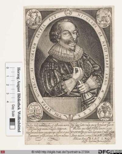 Bildnis Nicolas de Neufterre