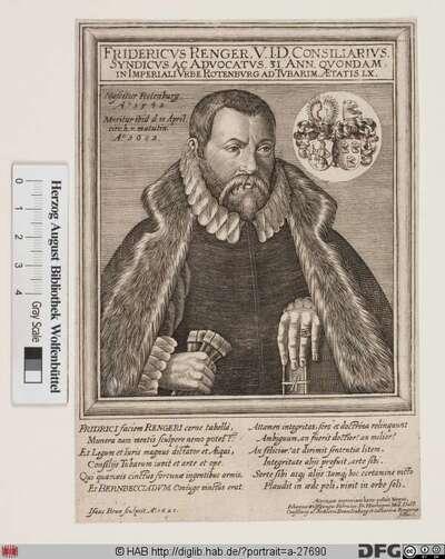 Bildnis Friedrich Renger