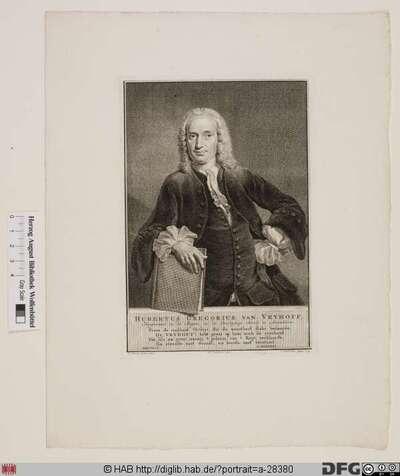 Bildnis Hubertus Gregorius van Vryhoff
