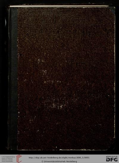 Memorie enciclopediche romane sulle belle arti, antichita etc - 1806