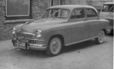 Cotxe de M. Mercader Ferran, B-195 446