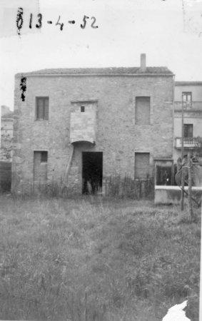 Pastas la Ideal. Terreny on es va edificar la fàbrica, al carrer de Sant Francesc d'Assís.