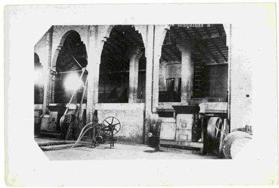 Sindicat Agrícola de Les Cabanyes. Sala de màquines.