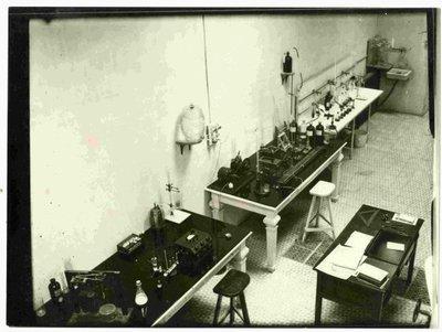 Laboratori de físico-química.