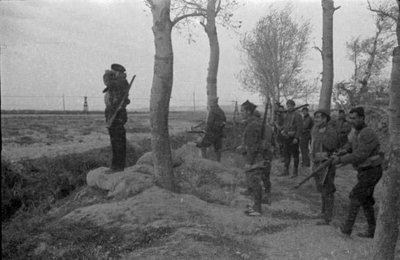 Combatents republicans al front d'Aragó