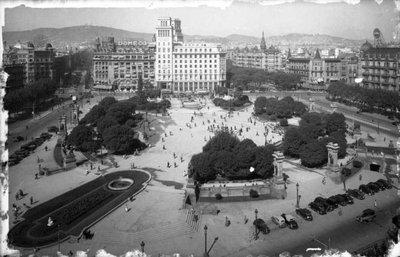 Plaça de Catalunya de  Barcelona