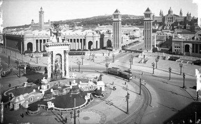 Plaça d''Espanya de  Barcelona