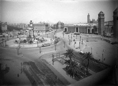 Plaça d''Espanya de Barcelona.