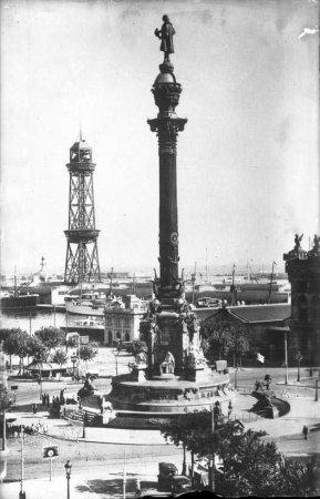 Monument a Cristòfor Colom de Barcelona