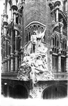 Grup escultòric La cançó popular catalana.