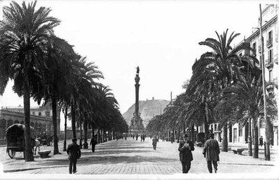 Passeig de Colom de Barcelona