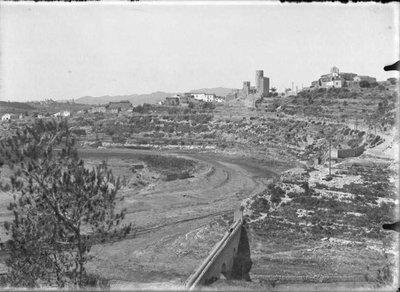 Vista del Castell de Castellet i rodalies