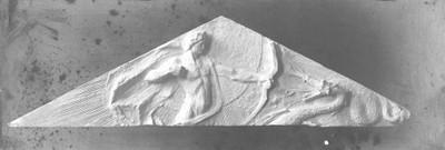 Apolon Pythoctonos - skica reljefa za timpanon Umjetničkog paviljona