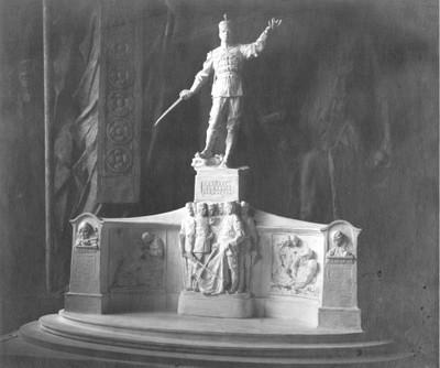 Model spomenika generalu Radku Hadži Dimitrievu za Slivno u Bugarskoj