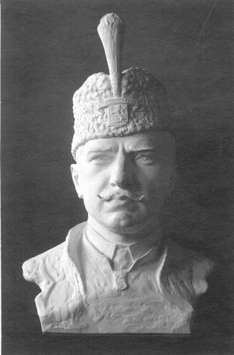 Bista generala Radka Hadži Dimitrieva - studija za spomenik u Slivnom, Bugarska