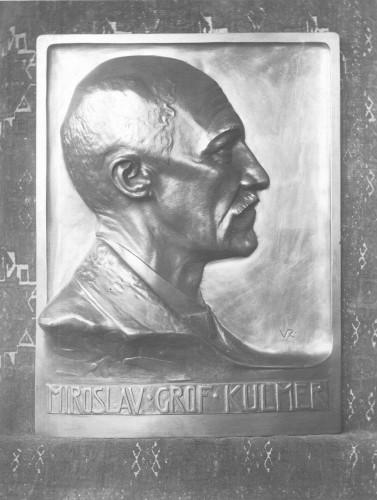 Spomen ploča grofa Miroslava Kulmera za lječilište Brestovac
