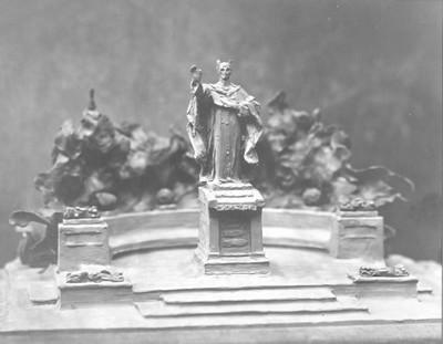 Model Strossmayerovog spomenika u Osijeku