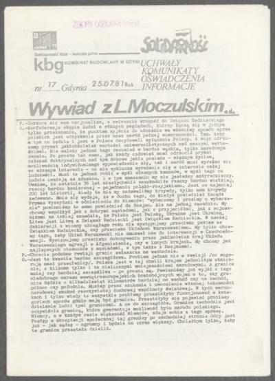 KBG - Kombinat Budowlany w Gdyni, nr 16