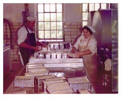 1977. Mleczarnia przy ul. Bydgoskiej w Gostycynie
